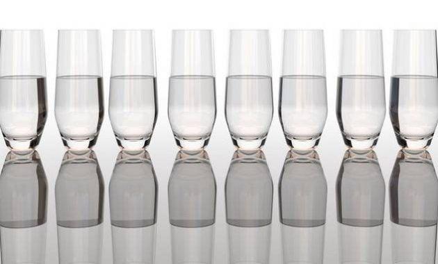8 gelas air per hari