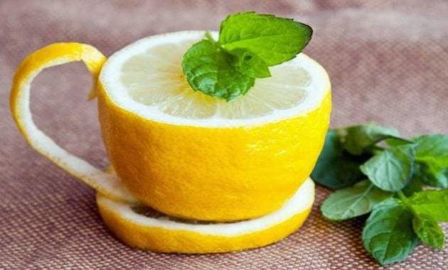 Gelas dari lemon